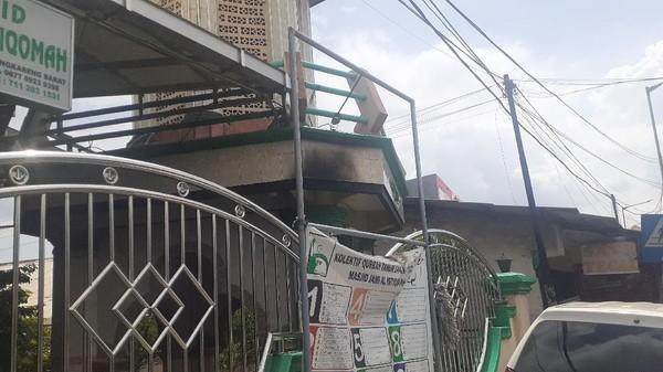 Pelempar Molotov di Cengkareng Disebut Gangguan Jiwa, Ini Kata Pengurus Masjid