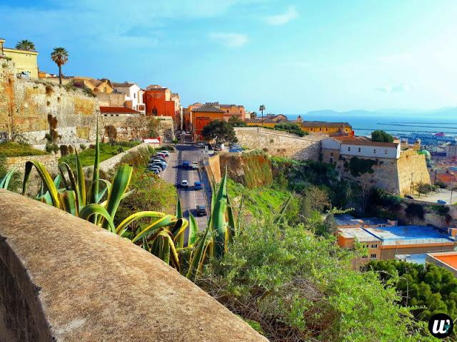 Landscape view, Cagliari | Sardinia, Italy | wayamaya