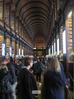 Trinity College Dublin Ireland library