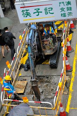 street photo in Sheung Wan