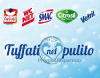 Logo Acqua&Sapone e La Saponeria ''Tuffati nel pulito''  e vinci buoni spesa da 25€