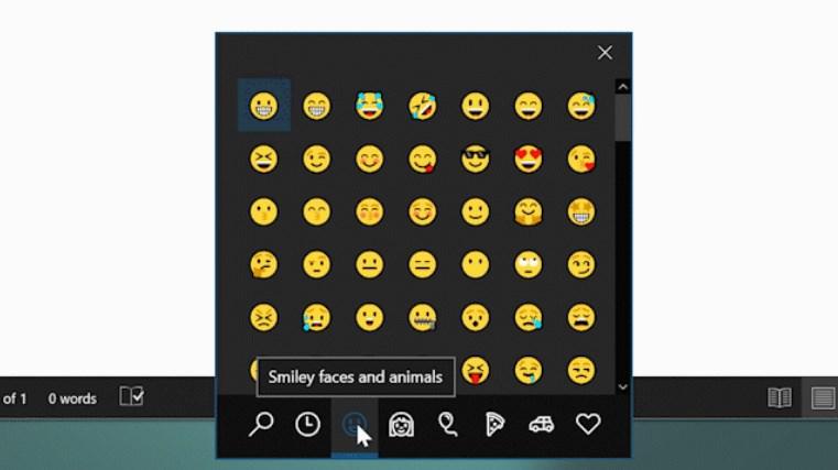 Windows 10 Kini Memiliki Shortcut Keyboard Untuk Emoji