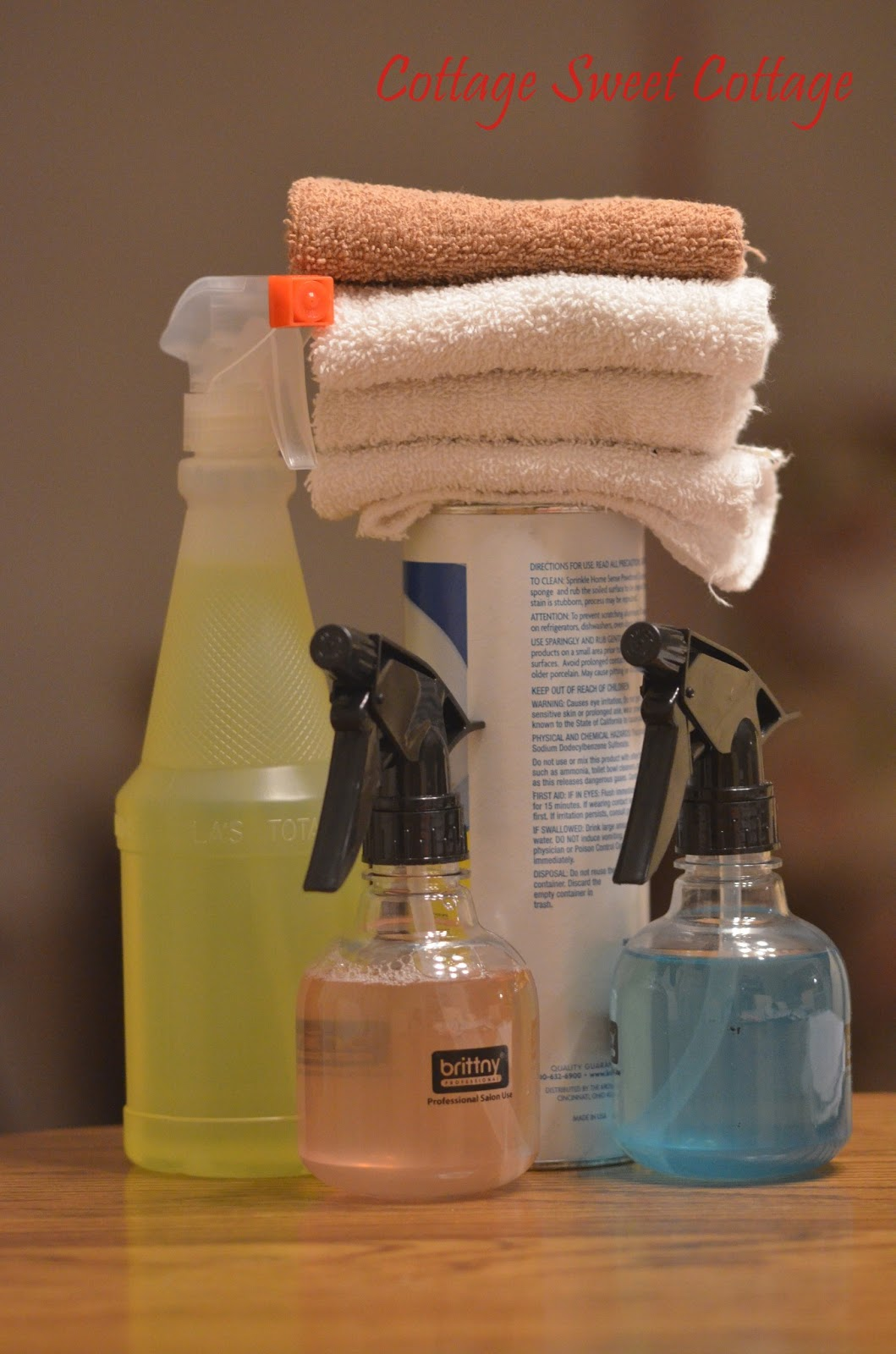 Cottage Sweet Cottage: 5 Cleaning Supplies I Keep In My