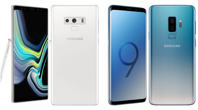 Alpine White Galaxy Note 9