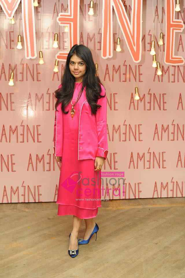 Amene exhibited teh Mexmonics collection at Lahore 2016