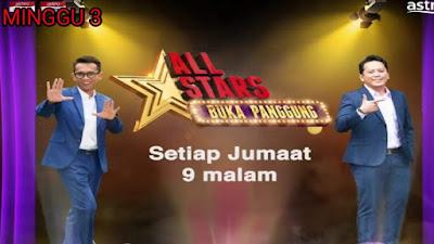 Live Streaming All Stars Buka Panggung Minggu 3