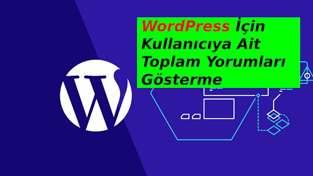 wordpress kullanıcı bilgilerini kodla getirme