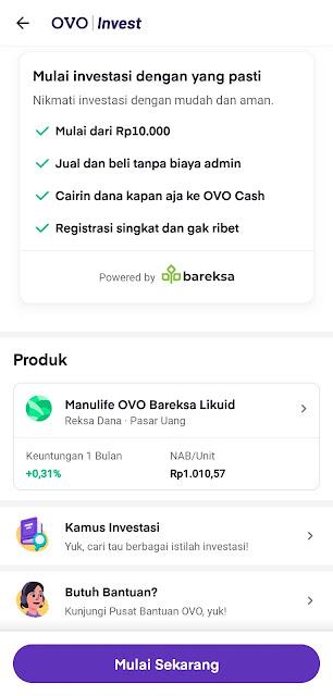 Investasi traveling dengan OVO Invest 2