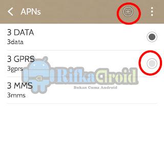Data aktif tapi tidak bisa mengakses internet