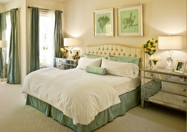 Green Bedroom Furniture Themes