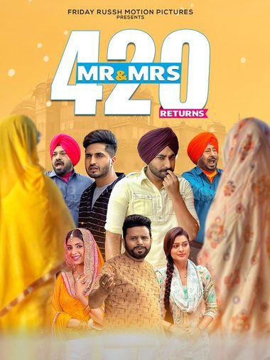 Mr & Mrs 420 Returns 2018 Punjabi 480p 400MB HDRip MKV