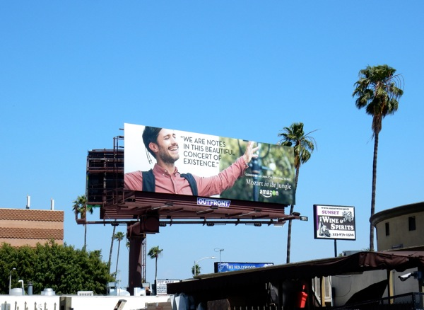 Mozart in the Jungle Emmy 2016 FYC billboard