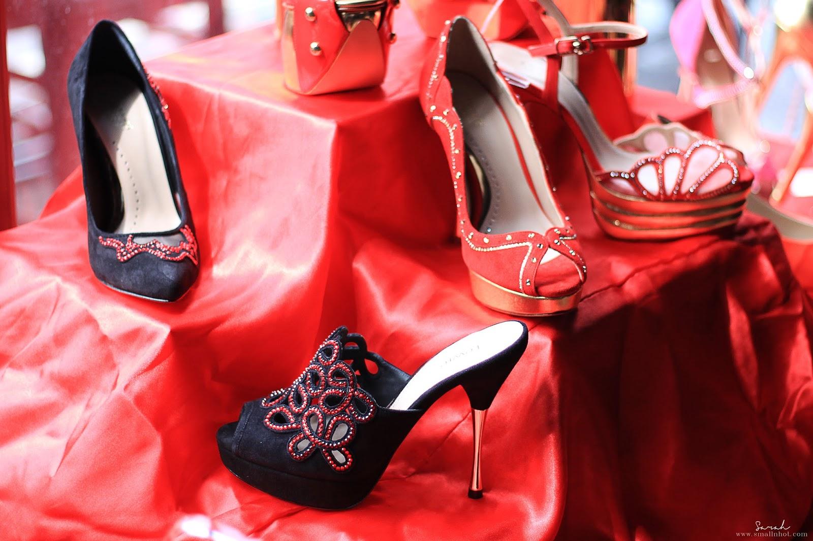 Lewré Bespoke Grandeur Red CNY 2017 Collection forbidden city; Lewré Bespoke Grandeur Red CNY 2017 Collection high heels; Lewré Bespoke Grandeur Red CNY 2017 Collection bespoke heels; Lewré Bespoke Grandeur Red CNY 2017 Collection handmade couture heels;