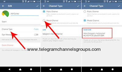 How to find a telegram channel