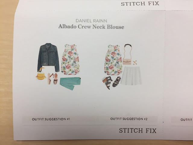 Stitch Fix Daniel Rainn Albado Crew Neck Blouse