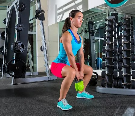 The Goblet Squat : Target your Quads, Glutes and Hamstrings | Fitness Yodha