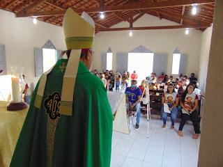 Nova capela São José no Sítio Gavião de Alagoa Grande é abençoada por dom Aldemiro