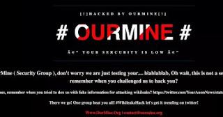 مجموعة الهاكر OurMine يخترقون موقع و يكيليكس و يتركون رسالة عدائية لأسانج !