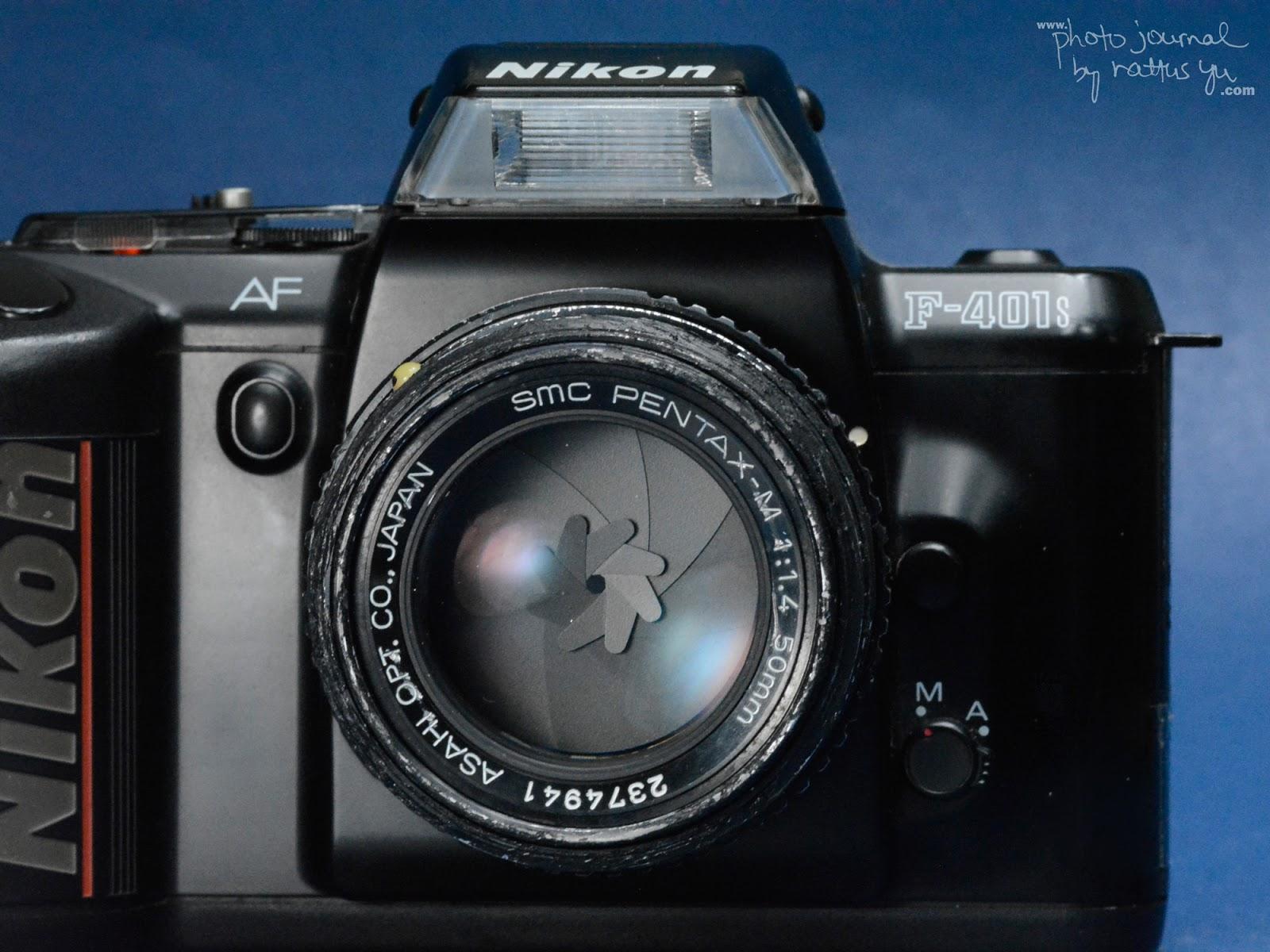 Nikkor 135/3.5, Pentax 50/1.4, Olympus 50/1.8 and Vivitar 3x Teleconverter