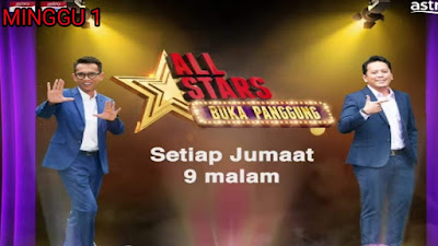 Live Streaming All Stars Buka Panggung Minggu 1