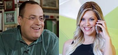 Paulo Soares e Renata Fan: concorrentes da Globo foram convidados para entrevistar Galvão Bueno