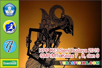 RPP K13 Seni Budaya SMP/MTs Kelas 7