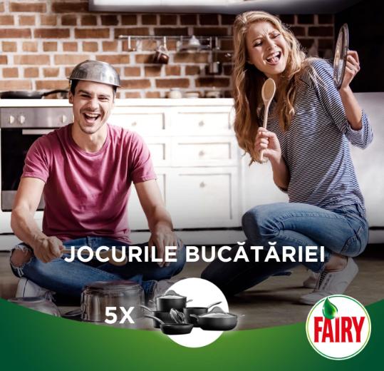 Concurs Youtil.ro - Jocurile Bucatariei alaturi de Fairy - castiga.net