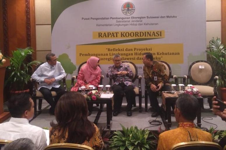 Wabup Sinjai Hadiri Rapat Kordinasi Pusat Pengendalian Pembangunan Ekoregion Sulawesi & MAluku
