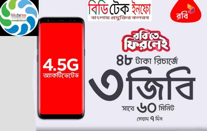 রবি বন্ধ সিম অফার- ২০১৯