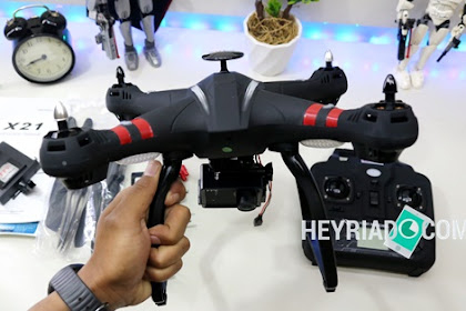 Bayangtoys X21 Indonesia, Unboxing Drone Vedography Murah