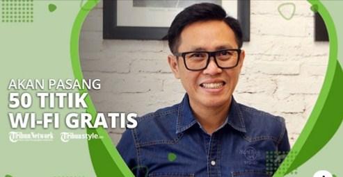 Eko Patrio Pasang 50 Titik Wi-Fi Gratis di Jakarta untuk Bantu Siswa Belajar Online