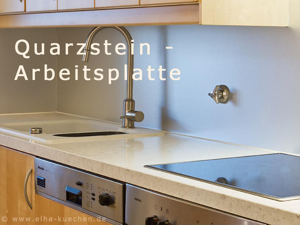 Wir Renovieren Ihre Küche  Quarzstein  Arbeitsplatten