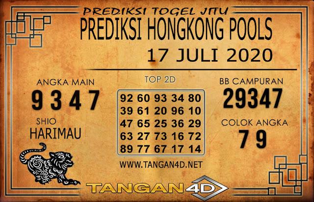 PREDIKSI TOGEL HONGKONG TANGAN4D 17 JULI 2020