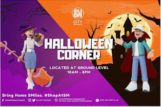 Halloween Corner at SM City Rosales