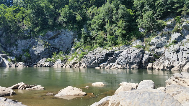 the Potomac River along the Billy Goat Trail in Maryland