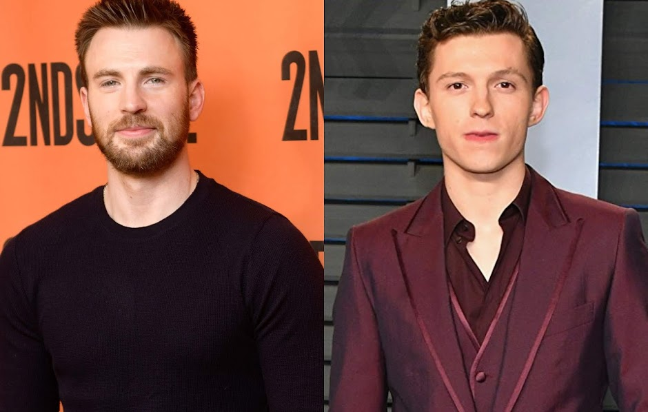 Chris Evans e Tom Holland
