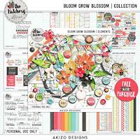 Kit : Bloom Grow Blossom by Akizo Designs