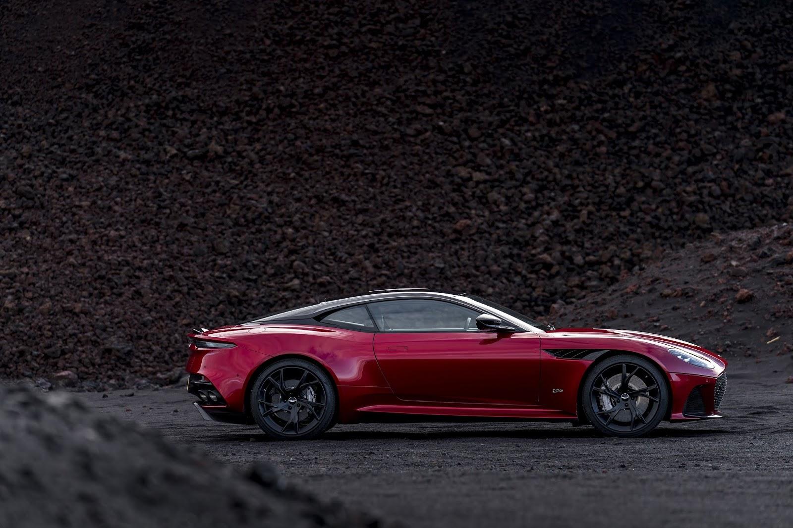 The Aston Martin Dbs Superleggera