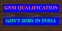 Diploma in Nursing Government jobs in India