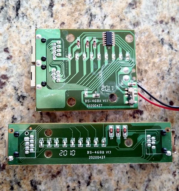 Placa testador de cabos