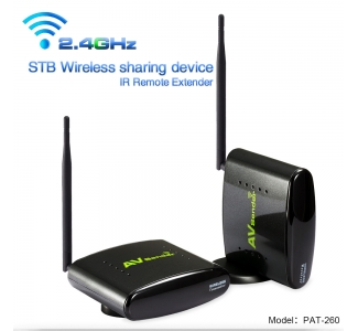PAKITE long range 2.4G Wireless audio video Transmitter and Receiver PAT-260