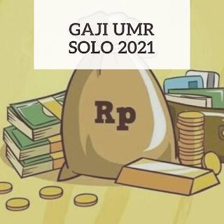 Gaji UMR Solo 2021
