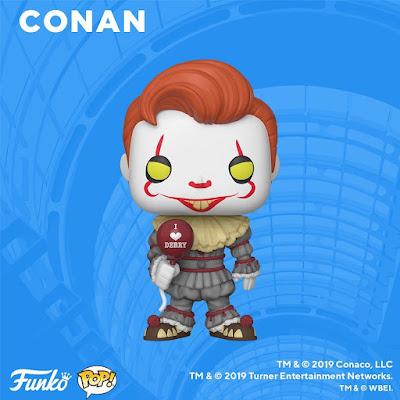 San Diego Comic-Con 2019 Exclusive Conan O'Brien POP! Vinyl Figures by Funko