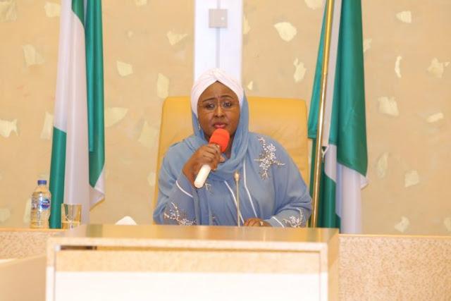 Coronavirus: Aisha Buhari seeks total lockdown