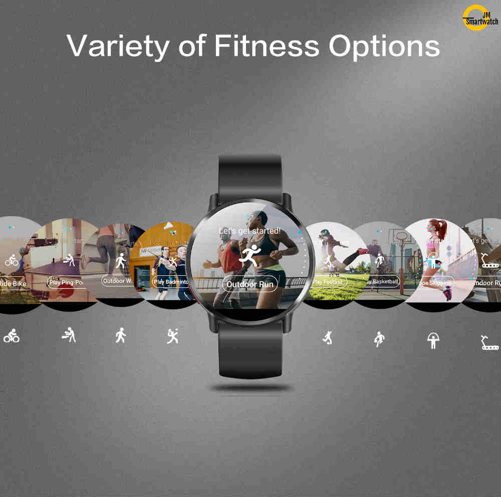 JM Android SmartWatch Business Watch Fiteness Tracker