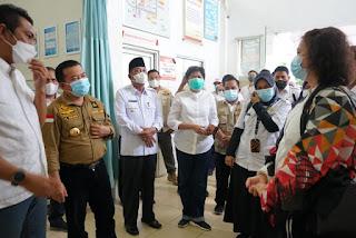 Gubernur jambi Al Haris : Segera kirim alat PCR ke Batanghari
