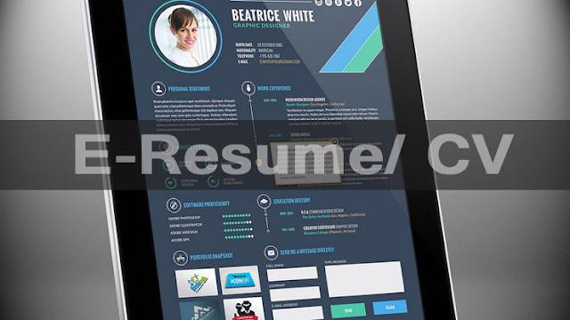 Resume C/V | What is eResume?