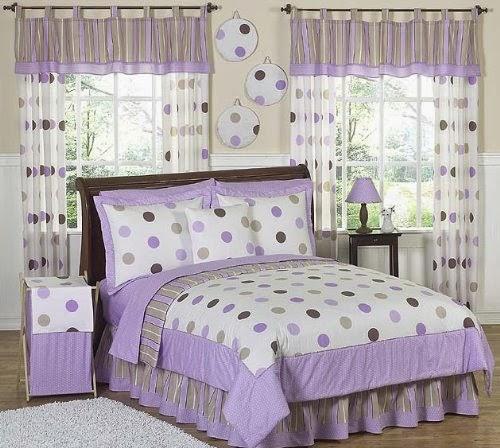 Hot Pink Bedroom Accessories Bedroom Ideas Pinterest Bedroom Decor Ideas Uk Lilac Bedroom Accessories: Bedroom Decor Ideas And Designs: Top Ten Polka Dot Bedding
