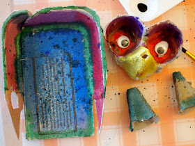 Egg Carton Owl Craft for Kids- Great Recycled Art project for kids of all age