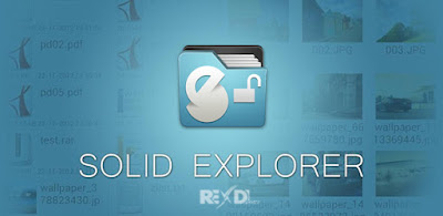 Solid Explorer Unlocker APK + Mod Full Version for Android Plugins + Icon Packs